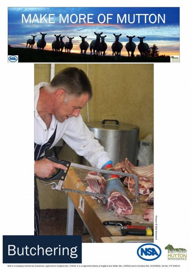 MMOM Butchering Poster