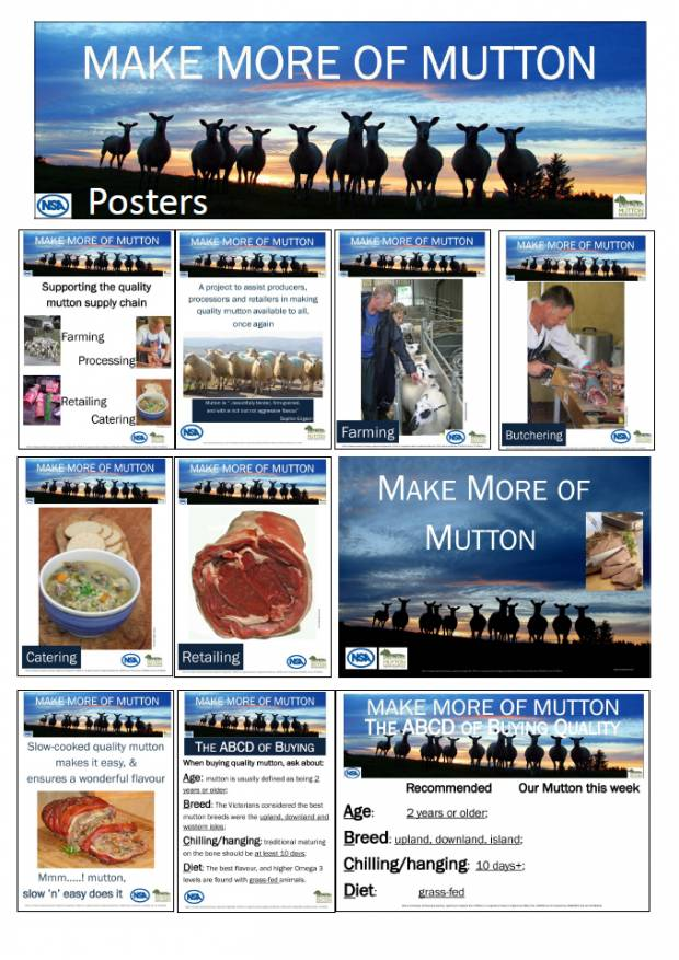 Composite Sheet of Posters Available