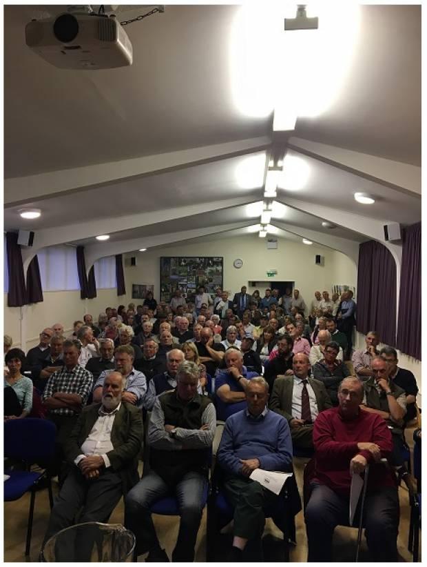 A full attendance ensured a good meeting