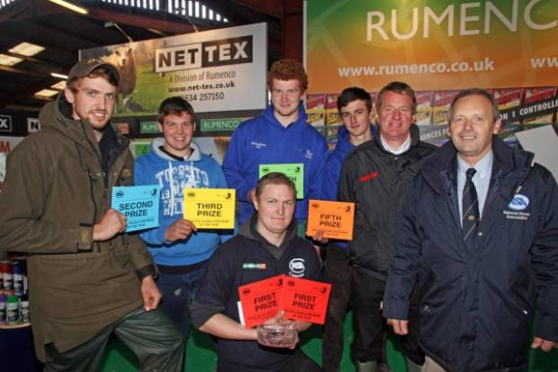 Young Shepherd of the Year competition winners