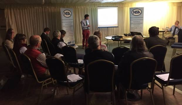 Sam Boon of Signet Breeding Services provided a RamCompare project update