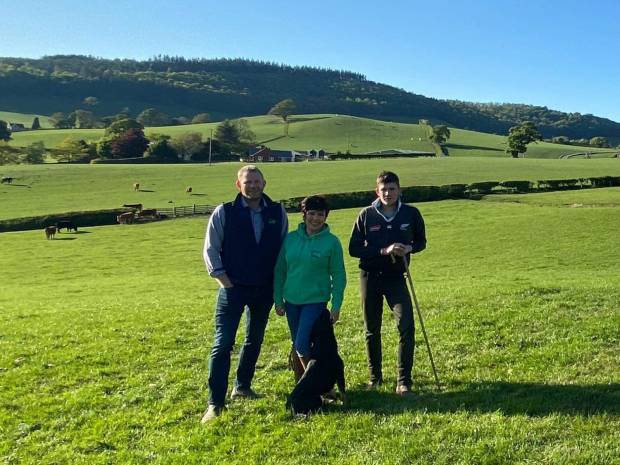 NSA Welsh Sheep 2021 hosts, Huw, Sioned and Dafydd Owen