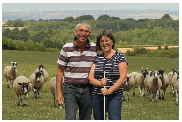 NSA Sheep South West hosts Bryan and Liz Griffiths
