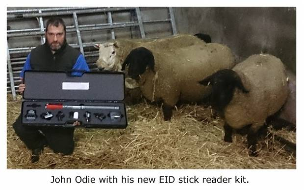 Shetland Island farmer receives boost to data recording inventory