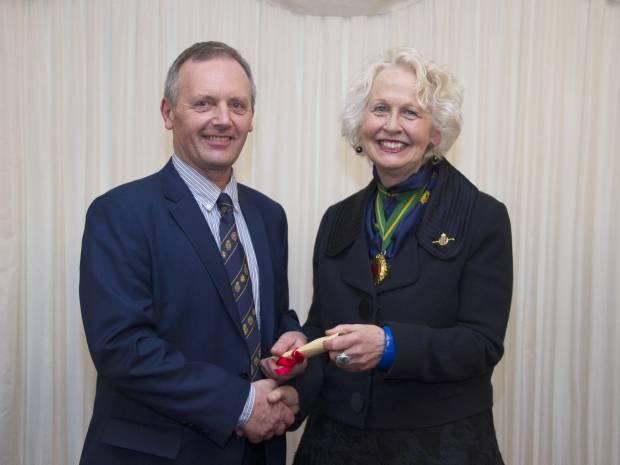 Top award for National Sheep Association Chief Executive