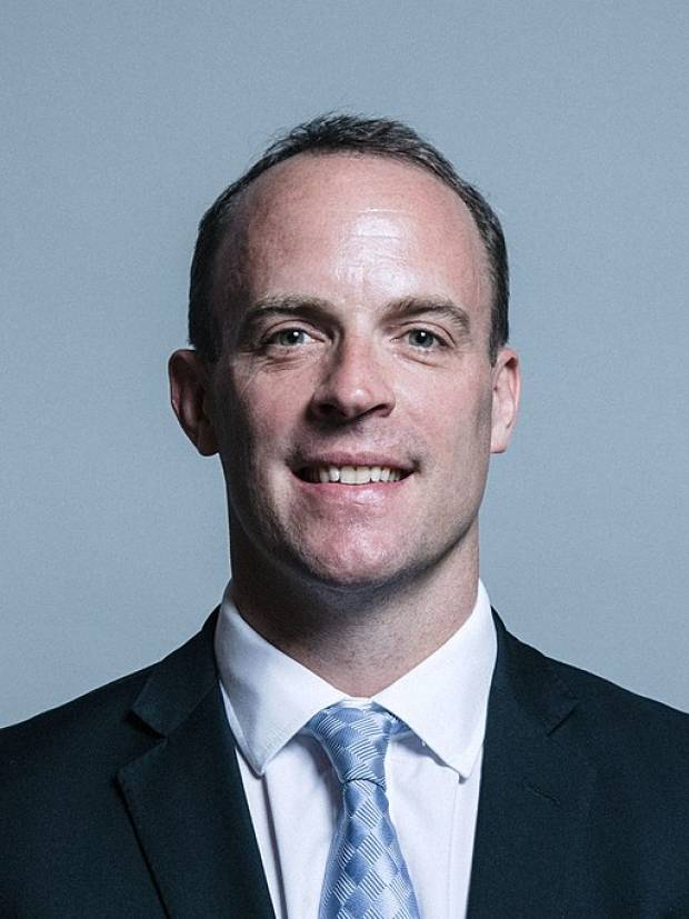 Dominic Raab MP, Official Parliamentary Portrait