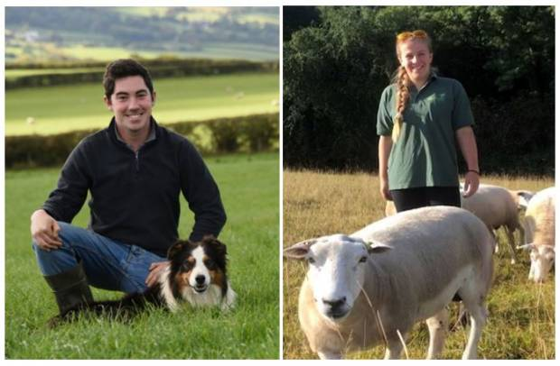 Ernie (left) and Amy (right) will soon take on the Love Lamb social media accounts
