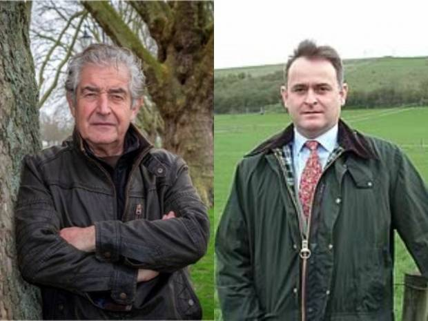 Tony Juniper (left) and Geoff Sansome (right)