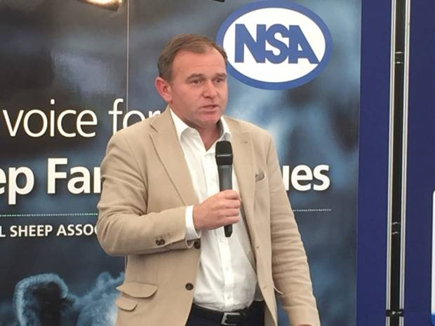 George Eustice, Secretary of State for Environment, Food and Rural Affairs