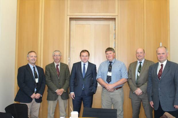 NSA hears strong messages from Food and Farming Minister