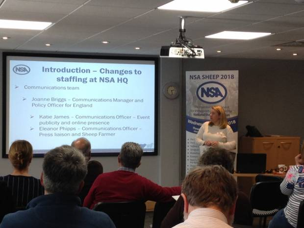 NSA facilitates important Defra research at Breed Society Forum