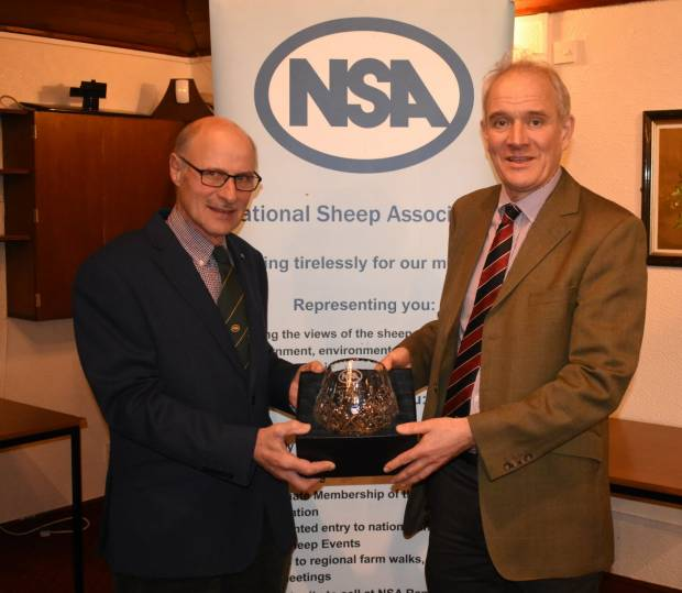 Respected Auctioneer awarded lifetime achievement award by NSA Northern Region