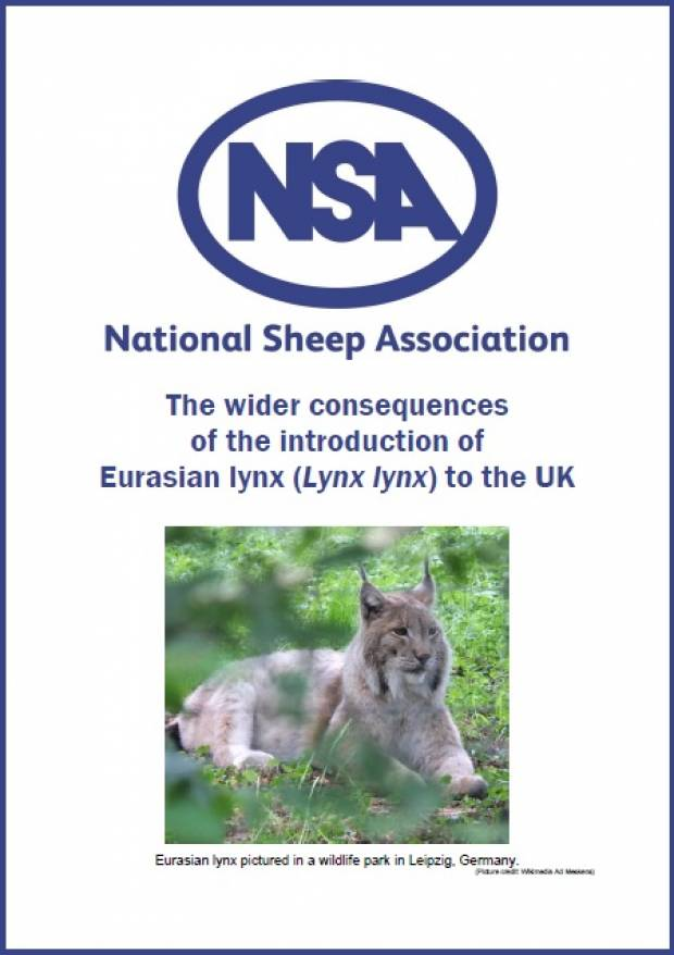 NSA calls for full and independent consultation of any lynx release licence application