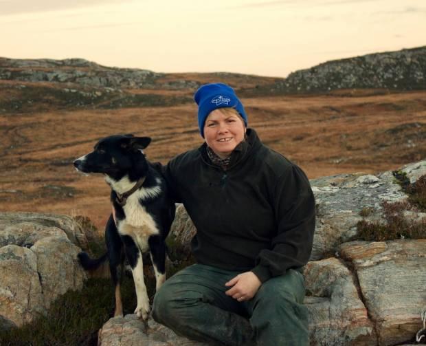Scotland's Sheep Farmer of the Year 2015 Joyce Campbell