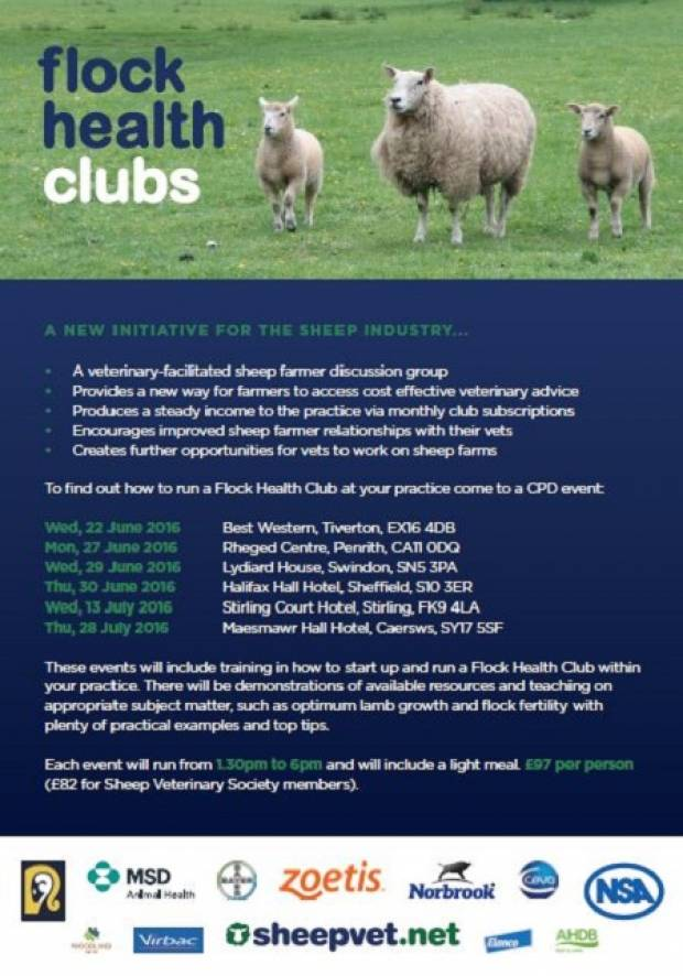 Does your vet know about Flock Health Clubs?