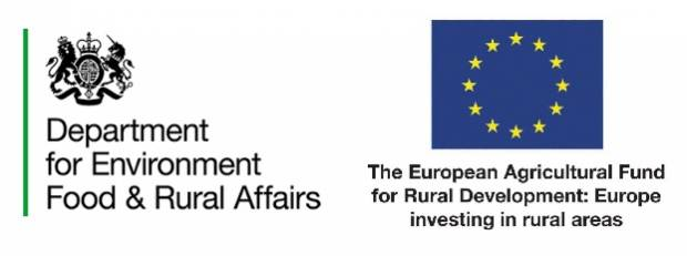 The project is funded by Defra with RDPE money.