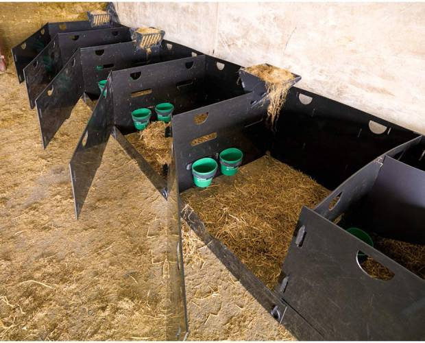 Solway Recycling deluxe sheep pens