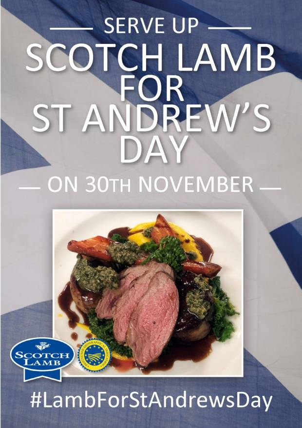 NSA Scotland Working Together To Encourage Scotch Lamb for St Andrews Day
