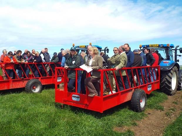 Second-chance Scot Sheep farm tour a triumph