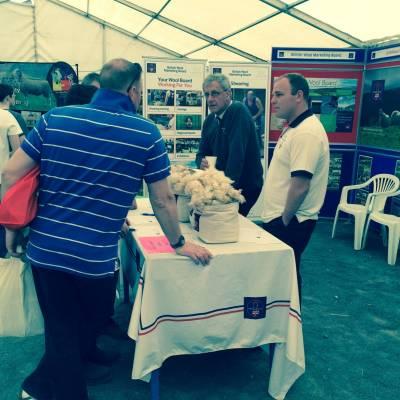 NSA Sheep Centre at the Royal Ulster Show 2016