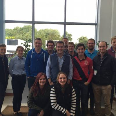 The NSA Next Generation Ambassadors completed a live/dead training day as part of a delivery session.