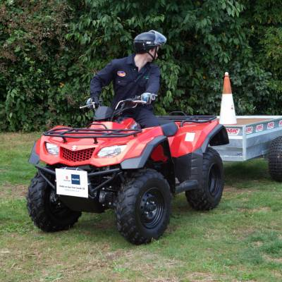 Quad bike handling in the NSA Young Shepherd of the Year final 2016