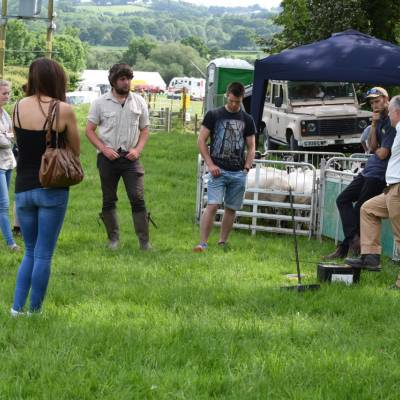 Fencing was once of the elements of the Next Generation sessions at NSA South Sheep 2016.