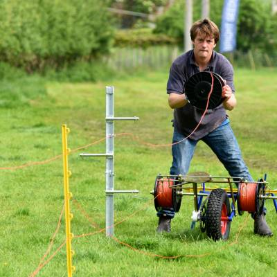 Fencing as part of the Next Generation sessions at NSA South Sheep 2016.