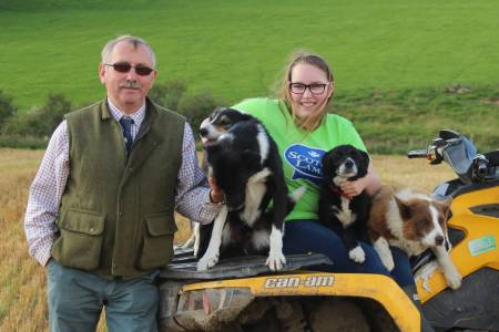 Hardy, independent sheep allow an active life for newest Scottish Trustee