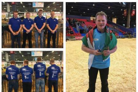 UK young shepherds take gold, silver and bronze in European Olympics