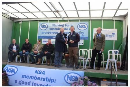 Worthy winner receives top NSA award