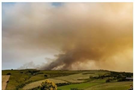 NSA warns of link between upland rewilding and devastating wildfires