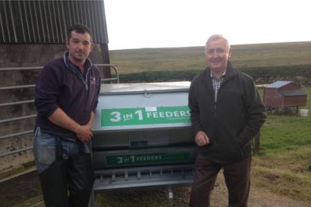 Ballymena farmer's prize win draws attention to NSA work in Northern Ireland