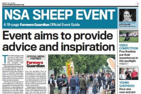 NSA Sheep 2014 event guides available
