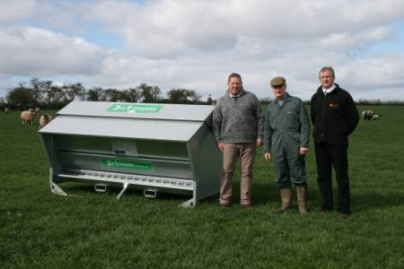 Second of six sheep feeders won by tenant farmer in Worcestershire