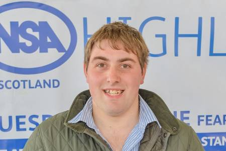 Opportunity for the younger generation to demonstrate their skills at NSA Highland Sheep