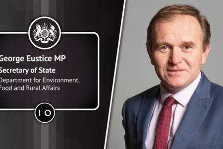 NSA pleased to welcome George Eustice as Secretary of State