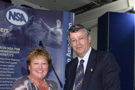 Two NSA awards recognise exceptional contribution to the sheep sector