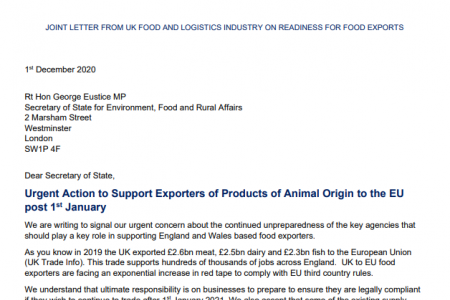 Industry take joint action to secure animal exports continue post 31st December