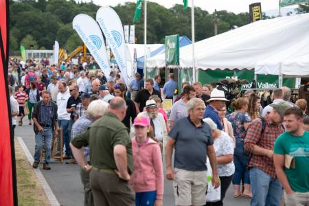 Positivity at NSA Sheep Event despite uncertainties for the future