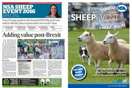 NSA Sheep 2016 - Offical Preview and Event Guide now available