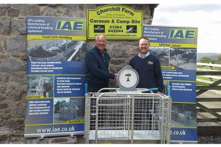 NSA IAE weigh crate giveaway 2017: Andrew Pendrick