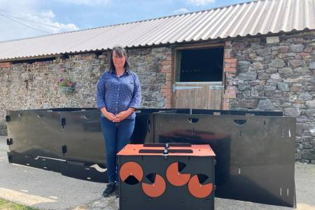 NSA and Solway Recycling prize giveaway 2021 - Tracey Cobbledick