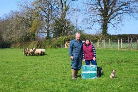 NSA and JFC Agri UK prize giveaway 2019 - Rob and Susan Small