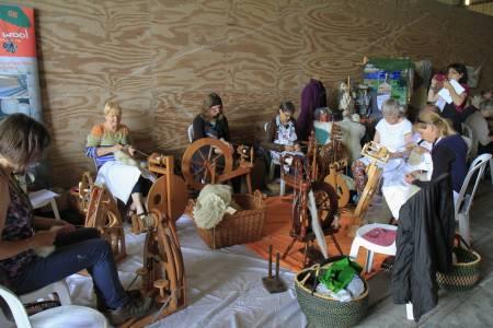 Wool Spinning Demonstration