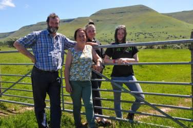 NSA Cymru/Wales regional farm walk