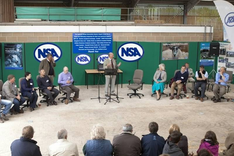 Official Opening at NSA Youthful Shepherds event 2013, which was held at Rutland Yard, Newmarket, Suffolk by kind permission of the Darley Stud Managment Co.