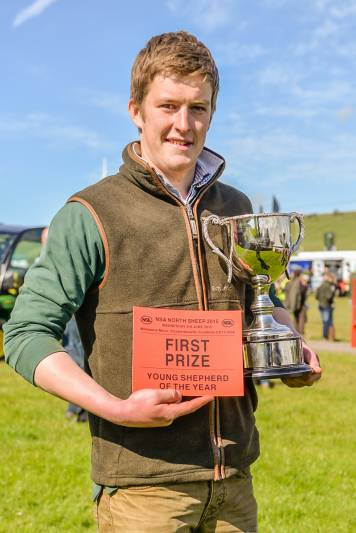 Young Shepherd Champion - Robert Walker