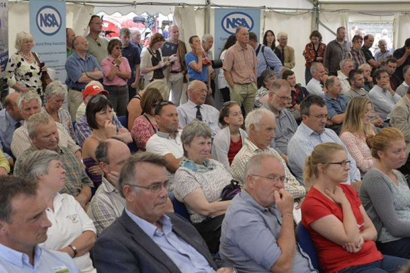 Crowds enjoy the Big Debate on balancing red meat supply with environmental impact