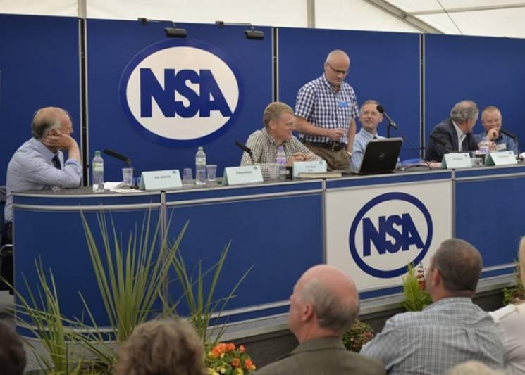 The Big Debate panel